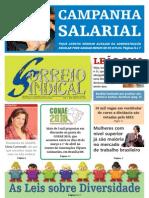 CORREIO SINDICAL - ANO 1 - Nº 6 -MARÇO DE 2010