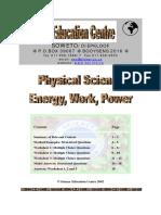 work-energy-power