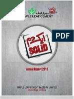 Mlcf Annual Report 2010