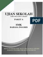 Soal US Bahasa Inggris SMK 1617 Paket A-1.docx