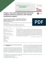 Omega-3 fatty acids supplementation decreases metabolic syndrome prevalence