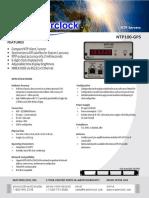 NTP100GPS+Data+Sheet