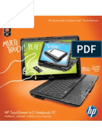HP Touch Smart Tx2 Brochure