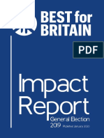 Best for Britain - 2019 Tactical Voting Impact Report