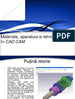 Materiale, Aparatura Si Tehnici Folosite În CAD CAM