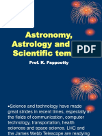 Astronomy, Astrology and the scientific temper.ppt
