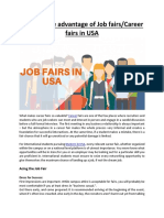 How to Take Advantage of Job Fairs
