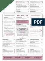 Tomahawk potto menu