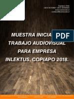 Presentación inicial de Proyecto Audiovisual Inlektus