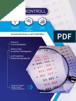 Optikontroll cégismertető kiadvány