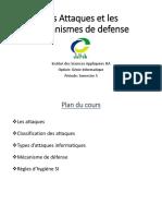 CHAPITRE III - Les attaques et mécanismes de défense 2