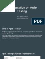 Agile Testing Presentation