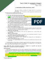 Tax2 Lucenario - Digests GrpA - Nov 27