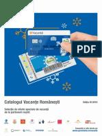 Catalog Vacante Romanesti -editia   3- octombrie-decembrie 2019