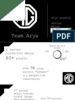 Final Presentation - IMT Ghaziabad_Riya Kaushik_Arya