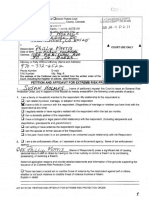 Phil Morris Extreme Risk Protection Order Petition