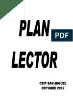 Plan Lector Ceip San Miguel