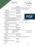 BCHAE160 SET A ENVIRONMENTAL STUDIES-1