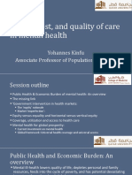 R7. Access, cost & quality of care