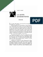Eugène Ionesco  « La quête intermittente » b