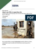 Libya's war_ Who is supporting who _ News _ Al Jazeera