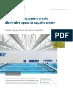 Aquatic Centre-case study