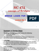 Lecture No.5 - Bridge-Loads