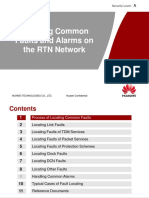 Handling Common Faults and Alarms on the RTN Network-20110711-A