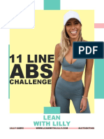Lilly Sabri - 11 Line Abs Challenge - Lean With Lilly