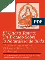 El Uttara Tantra Un Tratado Sobre La Nat