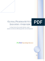 Global Pharmaceutical Industry-Overview