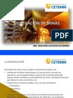 VENTILACIÓN DE MINAS I
