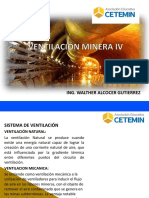 VENTILACIÓN DE MINAS IV