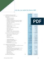 HPCL Cash Flow 2008-09