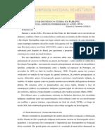 O LUGAR DOS ÍNDIOS NA GUERRA DOS FARRAPOS - EVIDÊNCIAS, LIMITES E POSSIBILIDADES