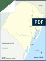 Divisão Municipal do RS em 1809