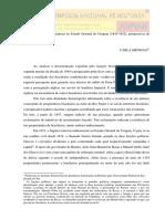 Os brasileiros e suas estâncias no Estado Oriental do Uruguai (1845-1852)
