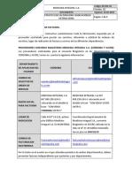 INSTRUCTIVO DE FACTURACIÓN