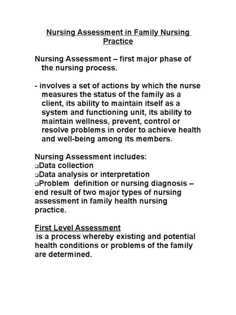 Family Nursing Care Plan | Medical Diagnosis | Nursing