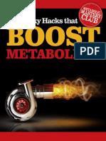 Sneaky Hacks that Boost Metabolism