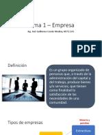Tema 1 – Empresa