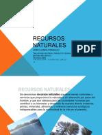 diagrama recursos naturales