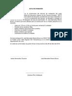 MODELO DE ACTA DE DONACIÓN DE ACTIVOS