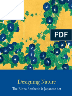 Designing Nature the Rinpa Aesthetic in Japanese Art