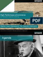 Stephan Hoyer - Performance Optimierung