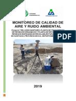 INFORME DE MONITOREO DE AIRE SANTIAGO