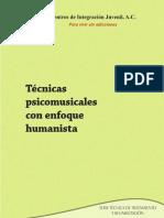 tecnicas psicomusicales con enfoque humanista