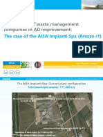 The Interest of Waste Management Companies in AD Improvement. The Case of the AISA Impianti. SUM2018