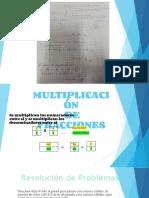 multiplicacion y división de fracciones