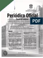 Gaceta Del Gobierno Edomex 14 de Enero